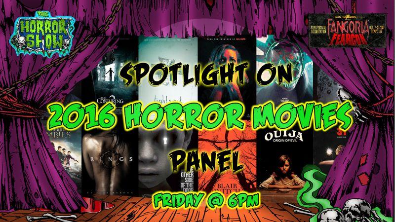 Spotlight on 2016 horror movies