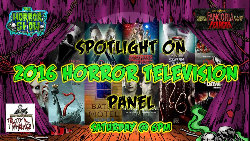 Spotlight on 2016 horror television