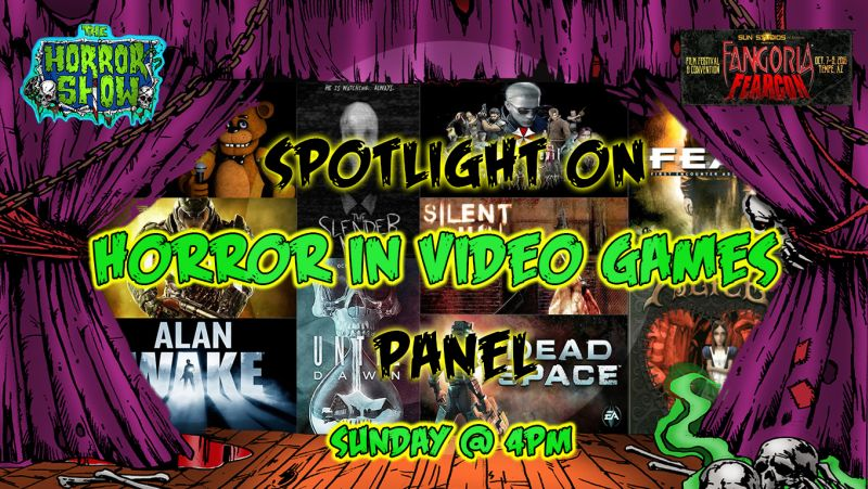 Spotlight on horror in video games