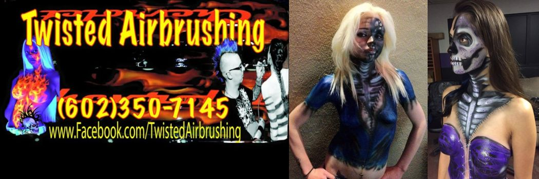Twisted Airbrushing
